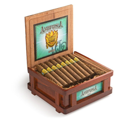 Ambrosia by Drew Estate Spice Cigars - 5 x 54 (Box of 24)