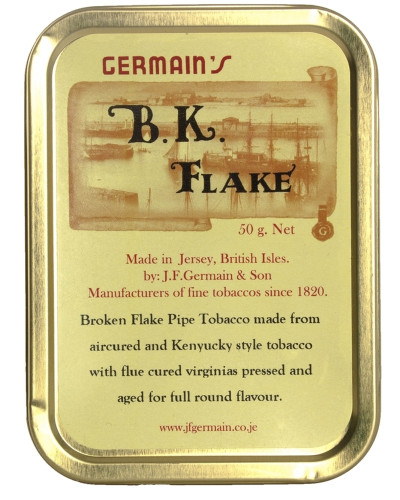 Germain's B.K. Flake Pipe Tobacco | 1.75 OZ TIN