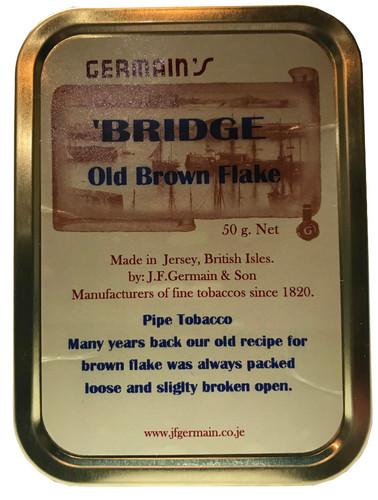 Germain's Bridge Old Brown Flake Pipe Tobacco | 1.75 OZ TIN