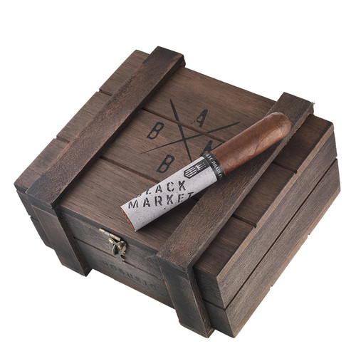 Alec Bradley Black Market Robusto Cigars - 5 1/4 x 52 (Box of 22)