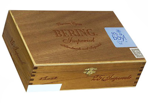 Bering It's A Boy Cigars - 5.25 x 44 (Box of 25 Aluminum Tubes)
