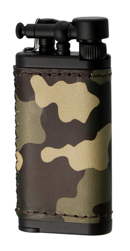 IM Corona Old Boy Camouflage Leather Lighter