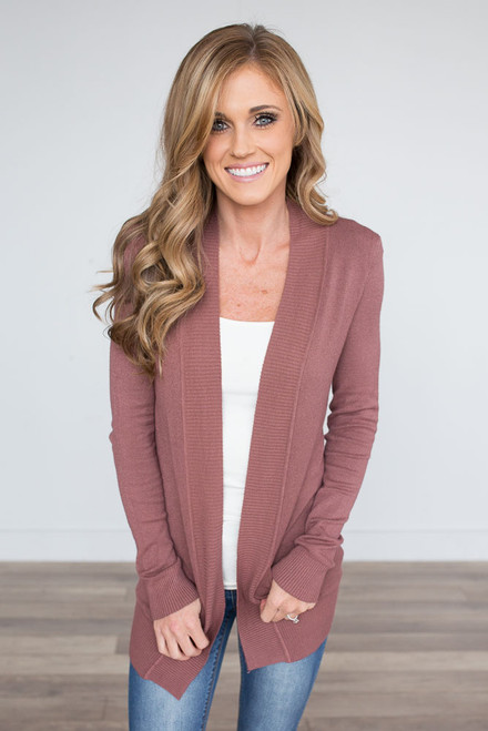 Down By The Bay Knit Cardigan - Canyon Sunset - FINAL SALE