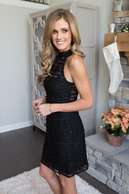 BB Dakota Surrey Sheath Dress - Black