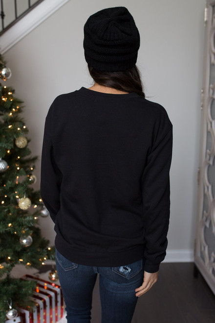 Single Bells Sweatshirt - Black - FINAL SALE