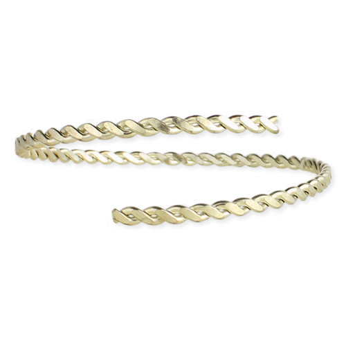 Beach Baby Twisted Armbands - Gold