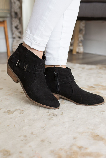 Road Less Traveled Booties - Black