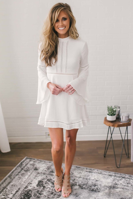 Jack by BB Dakota Charrelle Dress - Off White