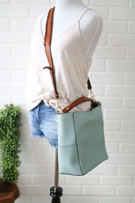 Coastal Carolina Handbag - Light Blue
