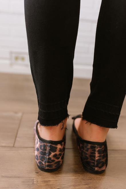 Fashion Report Leopard Flats - Brown