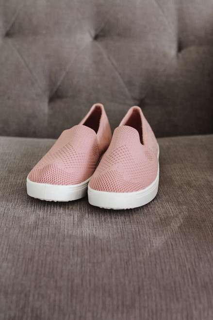 California Dreaming Slip On Sneakers - Mauve - FINAL SALE