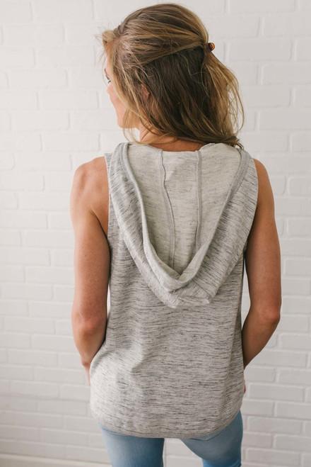 Jack by BB Dakota Joliot Vest - Heather Grey