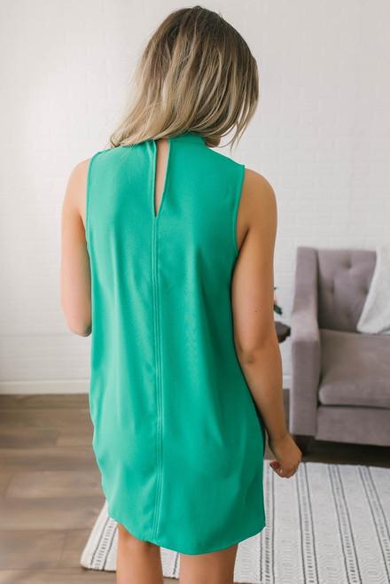 Jack by BB Dakota Momsen Shift Dress - Green