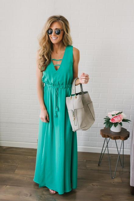 Jack by BB Dakota Emmalyn Maxi - Green