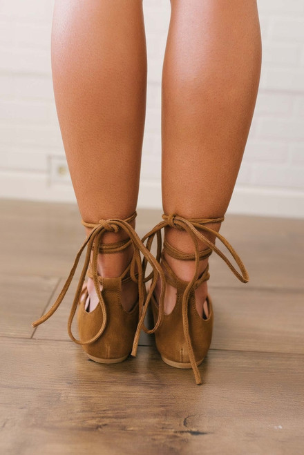 Free People Fiji Tie Sandals - Taupe