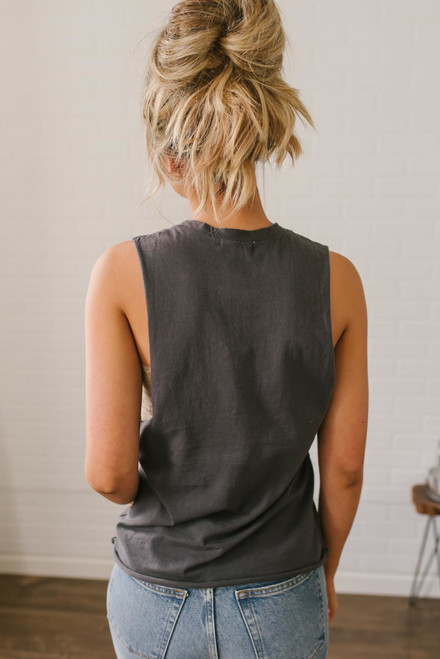 Los Angeles Graphic Tank - Charcoal