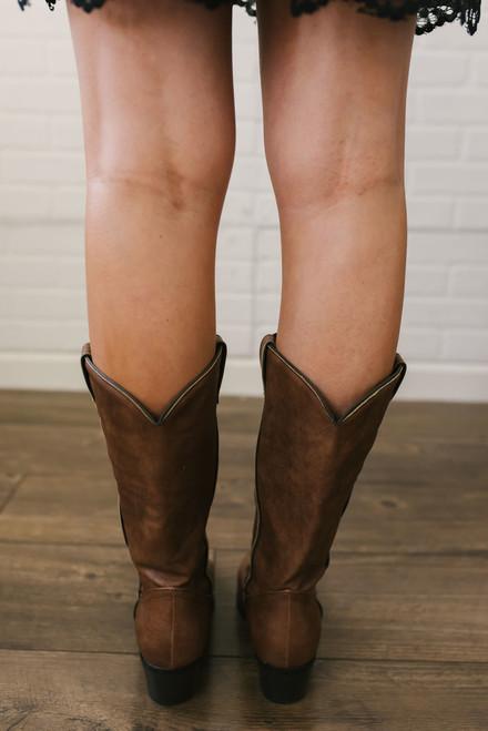 Dirt Road Anthem Cowboy Boots - Cognac
