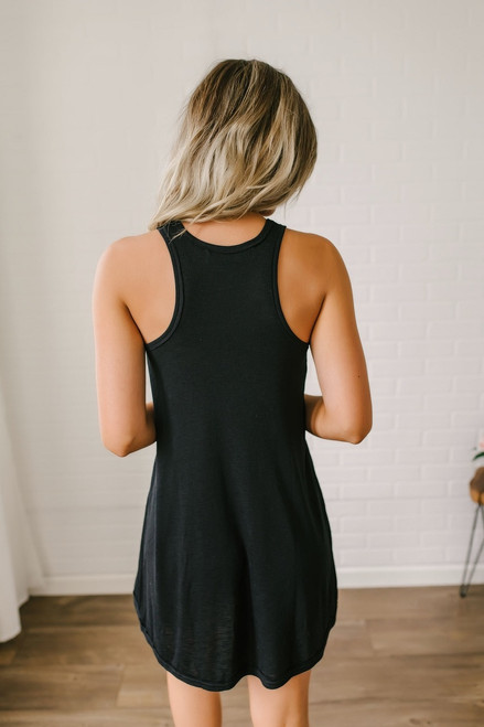Free People LA Nite Mini Dress - Black