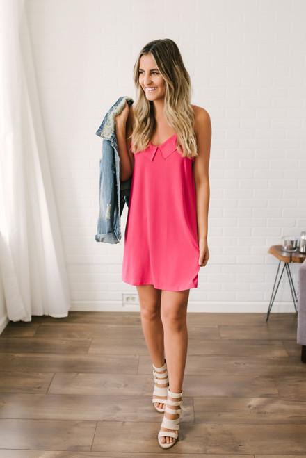 Bermuda Breeze Knit Dress - Pink - FINAL SALE