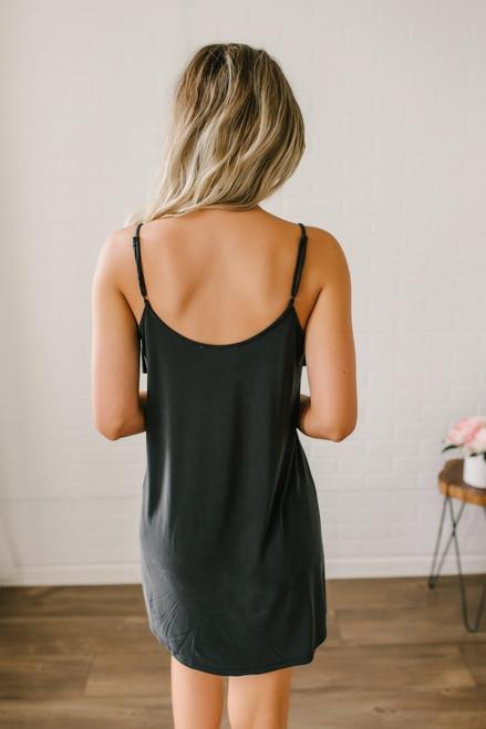 Bermuda Breeze Knit Dress - Black