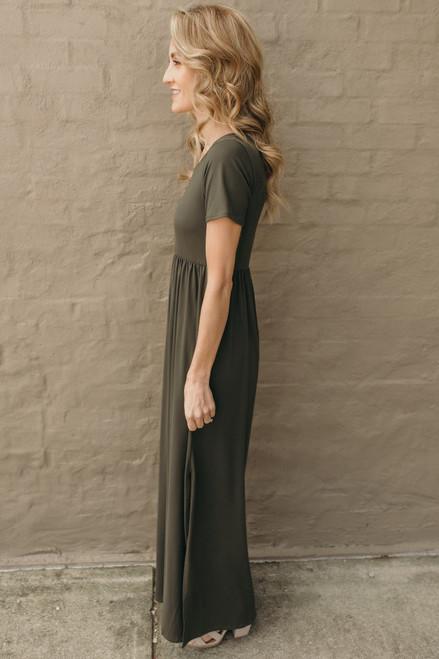 Season's of Change Maxi Dress - Olive