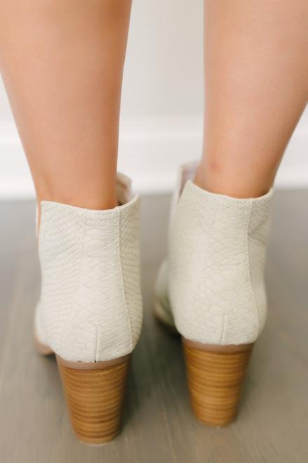 Laura Marana by Not Rated Tarim Booties - Cream