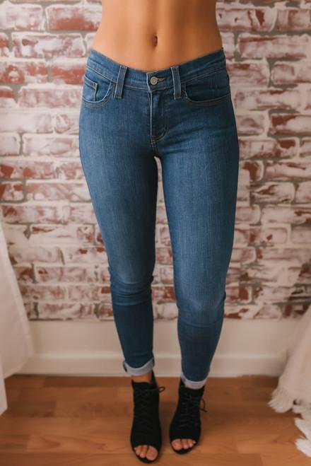 Cocoa Beach Skinny Jeans - Medium Wash