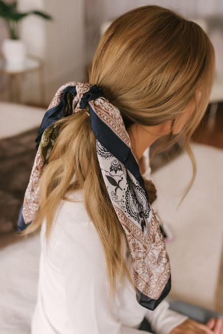 Headbands of Hope Paisley Princess Scarf - Olive Multi - FINAL SALE