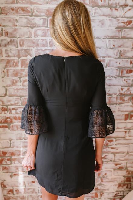 BB Dakota Pour It Up Lace Dress - Black
