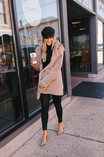 Someone Like You Faux Fur Jacket - Mocha