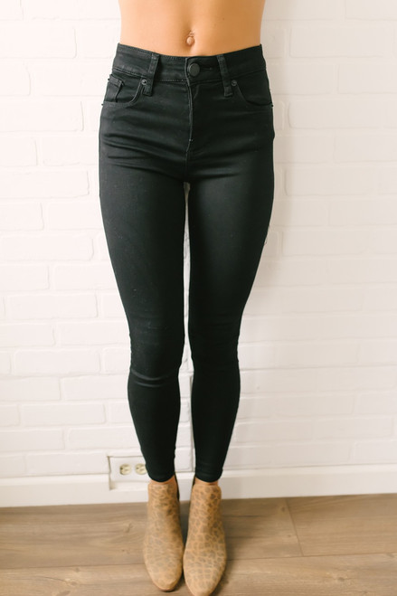 STS Blue Ellie High Rise Skinny Jeans - Black