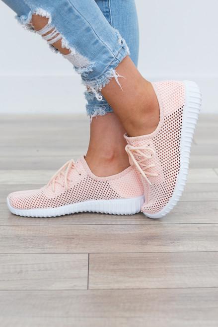 Kick Start Sneakers - Pink