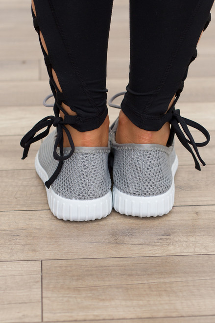 Kick Start Sneakers - Grey