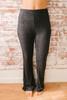Sunday Snuggles Soft Brushed Pants - Heather Black