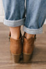 American Country Love Song Booties - Tan - FINAL SALE