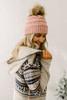 Breckenridge Printed Hooded Cardigan - Oatmeal Multi