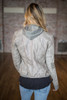 Dangerous Duo Hooded Moto Jacket - Taupe