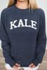 Suburban Riot Kale Sweatshirt - Navy - FINAL SALE