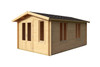 Alexandra 44 - 3.0m x 4.8m - 44mm Log Cabin - Under 2.5m