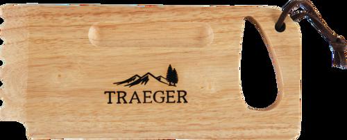 TRAEGER PELLET GRILL BAC454 WOODEN GRILL SCRAPE