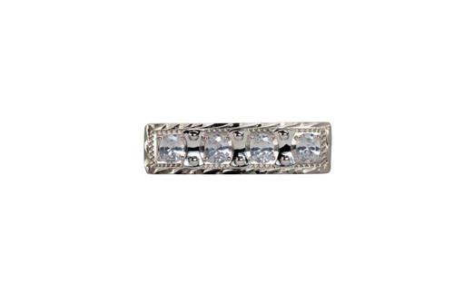 Stock Pin Bolero Clear Bar Design