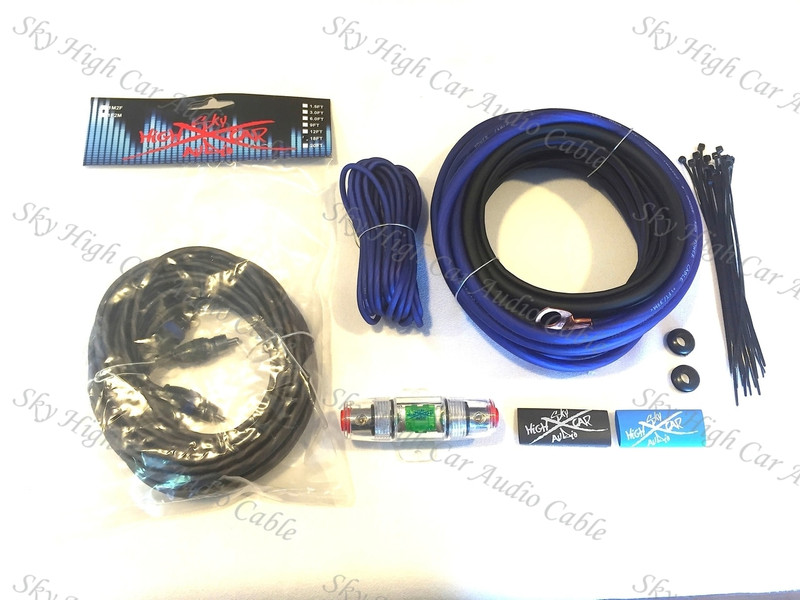 Pictured with Blue Power Wire. Pictures shown may not reflect kit(s) selected.