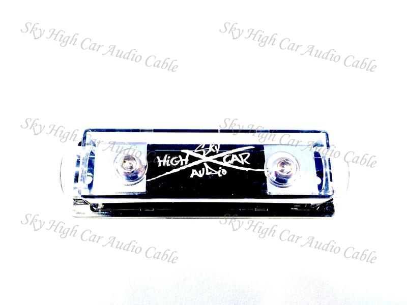 Sky High Car Audio 1/0 Gauge ANL Fuse Holder (Set Screw)