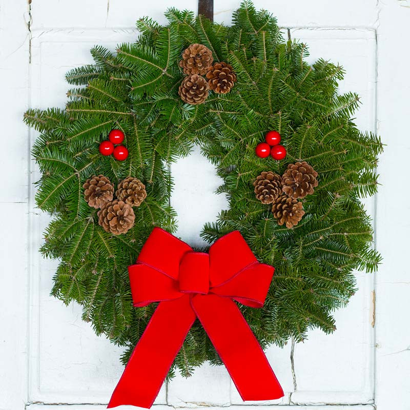 Preferred Downeaster Christmas Wreath | Traditional Wreath KS72
