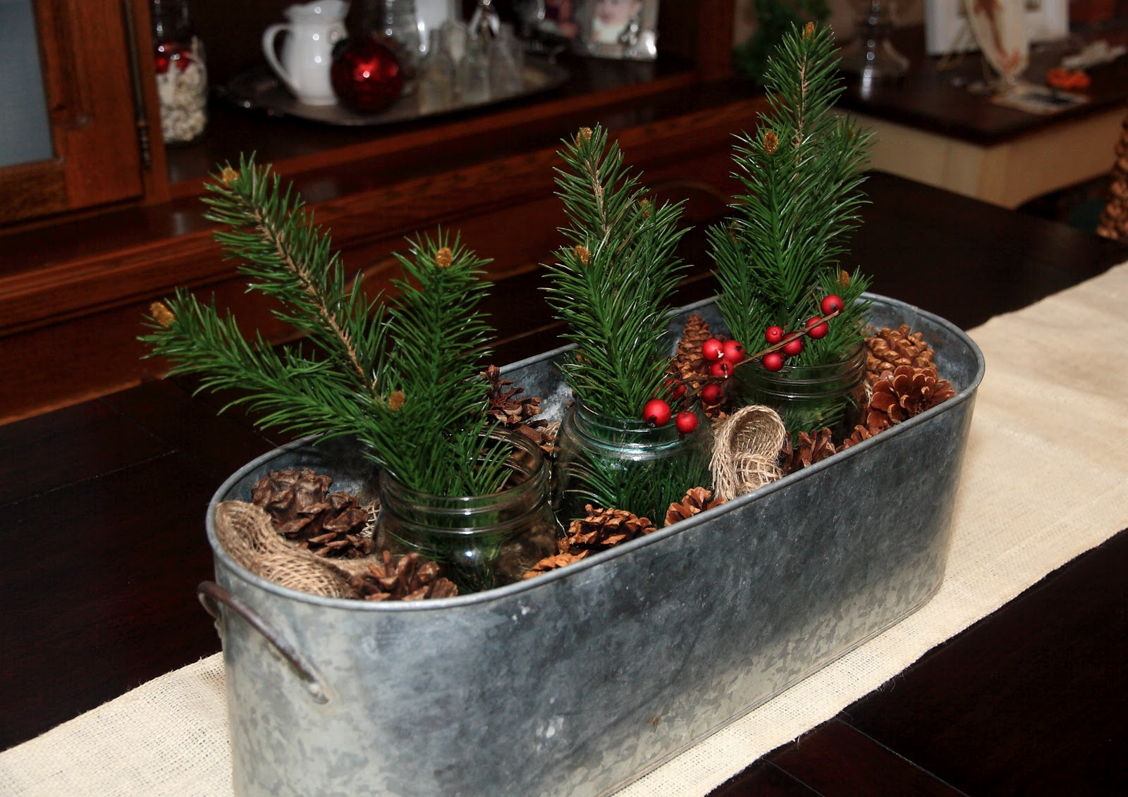 Christmas Table Centerpiece Inspirations - Harbor Farm Wreaths