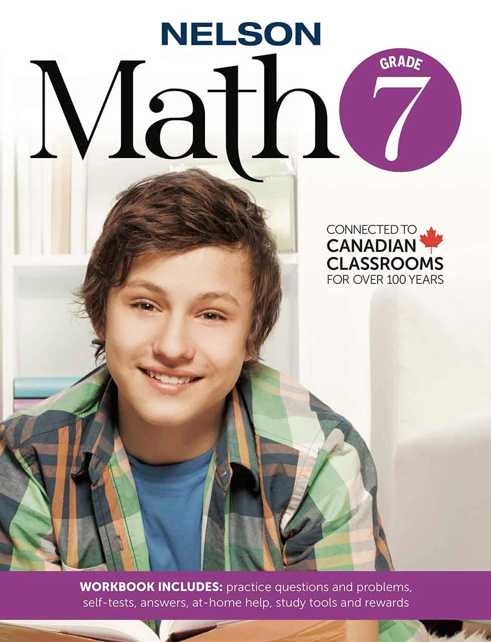 Nelson Math 7 | Grade 7 Math Workbook for Practicing Math at Home