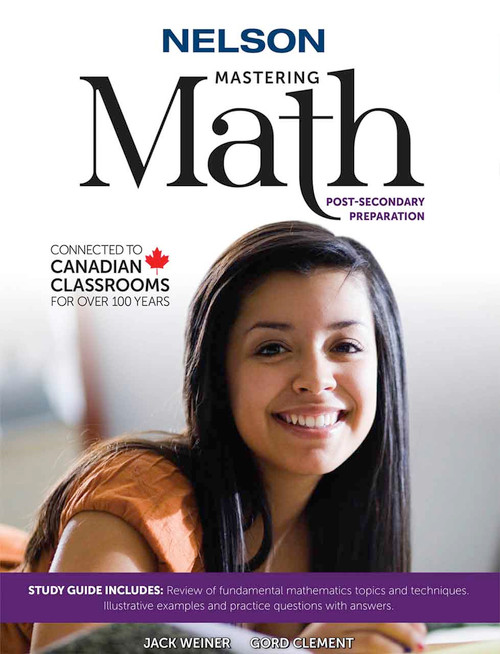 Nelson - Mastering Math - Study Guide Front Cover