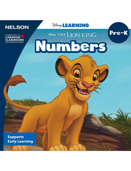 The Disney Learning Series - Numbers - PreK - Front Cover