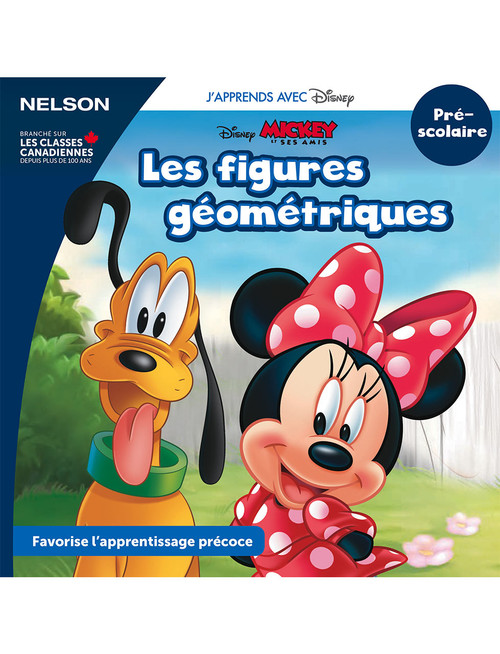 The Disney Learning Series - Les figures géométriques - PreK - Front Cover