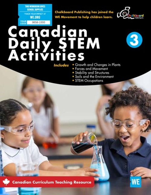 Canadian Daily STEM Activities 3 Front Cover